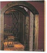 To The Wine Cellar Wood Print