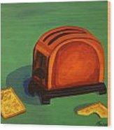 Toaster Wood Print
