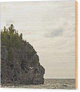 Tobermory Caves Wood Print