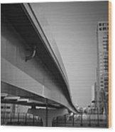 Tokyo Overpass Wood Print