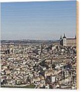 Toledo Cityscape Wood Print