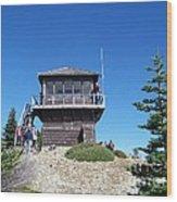 Tolmie Peak Lookout Wood Print