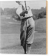 Tom Armour Wins Us Golf Title - C 1927 Wood Print