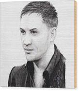 Tom Hardy Wood Print