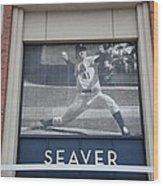 Tom Seaver 41 Wood Print