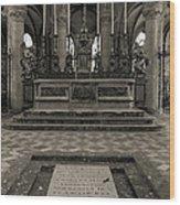 Tomb Of William The Conqueror Wood Print