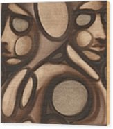 Tommervik Abstract Figures Wood Print