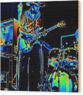 Getting Very Electric At Winterland In December 1975 Wood Print