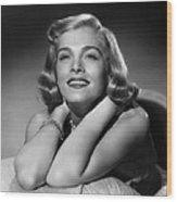 Too Late For Tears, Lizabeth Scott, 1949 Wood Print by Everett