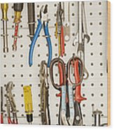 Tools Wood Print