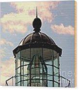 Top Of Bonita Lighthouse Wood Print
