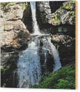 Top Of Kent Falls Wood Print