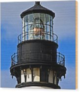 Top Of Lighthouse Wood Print