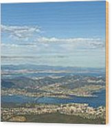 Top Of Mount Wellington Tasmania Wood Print