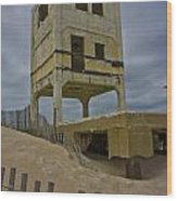 Topsail Island Observation Tower 6 Wood Print