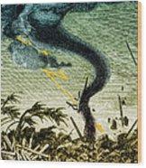 Tornado, 19th Century Wood Print