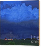 Tornado Over Madison 4 Wood Print