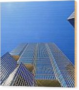 Toronto Financial Core Buildings Wood Print