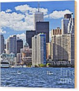 Toronto Waterfront Wood Print