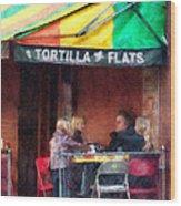 Tortilla Flats Greenwich Village Wood Print