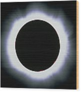 Total Solar Eclipse, 1999 Wood Print