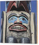 Totem Pole 8 Wood Print