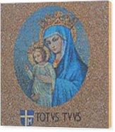 Totvs Tvvs - Jesus And Mary Wood Print