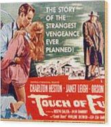Touch Of Evil, Charlton Heston, Janet Wood Print by Everett