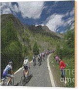 Tour De France 1 Wood Print