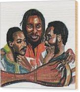 Toure Kunda Wood Print