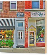 Tourist Hotel-downtown Perrysburg Wood Print