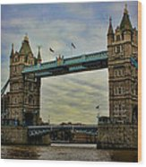 Tower Bridge London Wood Print