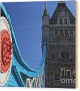 Tower Bridge Wood Print