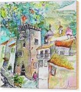 Tower in Ponte de Lima in Portugal Wood Print