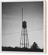 Tower- Jackson Street- Monroe Louisiana Wood Print