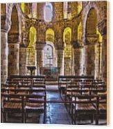 Tower Of London Chapel Wood Print