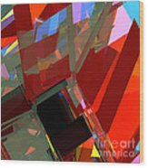 Tower Series 41 Mineshaft Wood Print