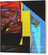 Tower Series 42 Diving Board Wood Print