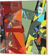 Tower Series 44 Tangerine Picnic Wood Print