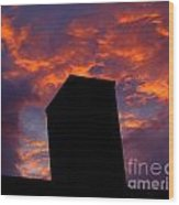 Towering Inferno  Wood Print