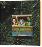 Toy Story Christmas Wood Print