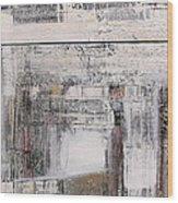 Traces Wood Print