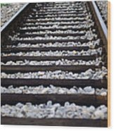Tracks Wood Print