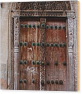 Traditional Carved Door Wood Print