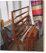 Traditional Weavers Loom Wood Print