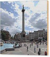 Trafalgar Square Wood Print