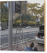 Traffic Control System, Daejeon Wood Print