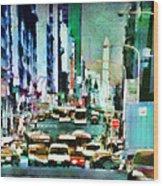 Traffic Wood Print
