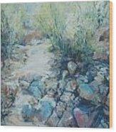 Trail Incline Wood Print
