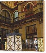 Trainstation Hotel Nashville Wood Print